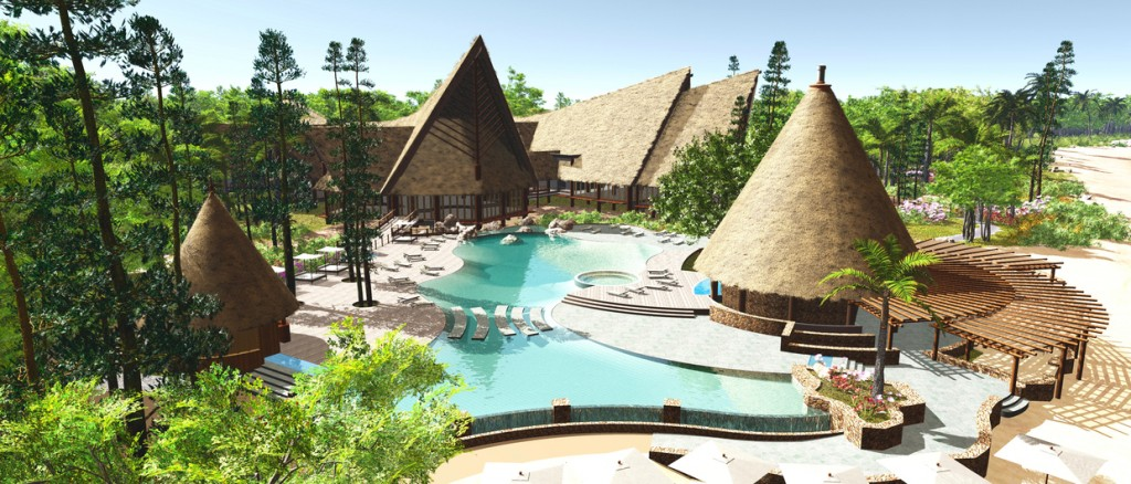 sheraton gouaro deva 4 bourail new caledonia tropical architecture. Black Bedroom Furniture Sets. Home Design Ideas