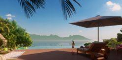 Tetavake 3b_Vue terrasse piscine