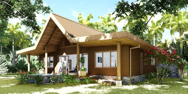 Villa tumata 1
